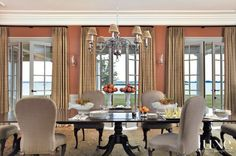 (Window Treatments) > Floor to ceiling provides an illusion of higher ceilings