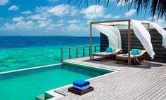 Le maldive per una luna di miele rilassante