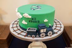 Choo-Choo Train Cake - so adorable!