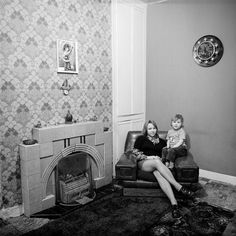 England. 'June Street'. Collaboration with Daniel Meadows. 1973. by  Martin Parr