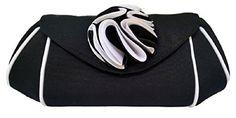 Jessica McClintock Winged Flower Clutch Purse Evening Bag Handbag (Black) Jessica McClintock http://www.amazon.com/dp/B00WRI3W9O/ref=cm_sw_r_pi_dp_jsnsvb15KDMKP