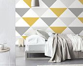 We have gathered the very best wall paint ideas for living room and room. These wall paint layouts will certainly provide your residence a new look. Find out imaginative wall paint ideas as well as easy means to paint the inside of your home. Vinyl Wallpaper, Self Adhesive Wallpaper, Adhesive Vinyl, Gray Wallpaper, Best House Paint Colors, Best Wall Paint, Interior Design Trends, Wall Painting Decor, Ideas Vintage