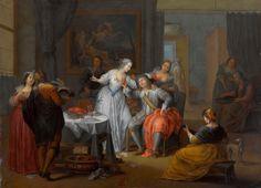 Franz Christoph Janneck | Barokk Era stílusban | Tutt'Art @ | Pittura * scultura * Poesia * Musica |