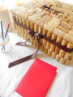 mariage vin | Création de votre urne de mariage : thème vin | L'atelier décos