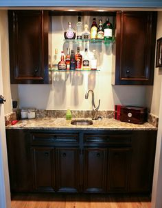 1000 ideas about small home bars on pinterest home bars for Office wet bar