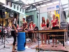 Some video footage I took of Mumbo Jumbo's performances at Queen Street Mall on 17 April Mumbo Jumbo is an all-girl band from Maleny who play the Marimba. Street Mall, Girl Bands, Video Footage, Brisbane, Instruments, Wrestling, Lucha Libre, Musical Instruments, Tools