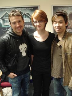 """James Wan and Leigh Whannell in Dublin for """"Insidious"""""""