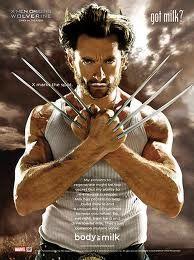 *Hugh Jackman (Wolverine)!
