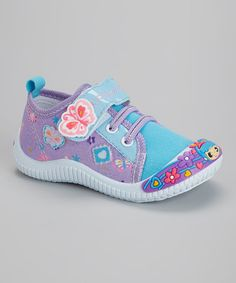 Purple Butterfly Sneaker #zulily #zulilyfinds