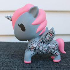 Painted my diy tokidoki unicorno #tokidokilovesyou