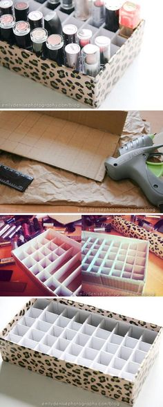 Best of Home and Garden: 33 Creative Makeup Storage Ideas And Hacks For Gir...