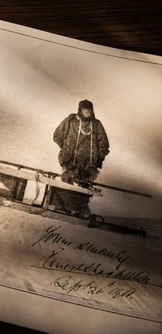 During the 1908-1909 Nimrod Expedition, Sir Ernest Shackleton wrapped the engine of his motorcar in a sheet to help prevent it from freezing
