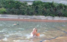 Una piscina a misura di bambini a Barcellona