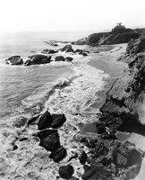 Framed 1910s Circa 1918 Arch Beach Laguna California Usa