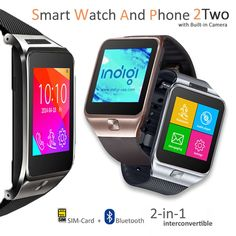 Indigi Unlocked GSM Watch Cell Phone Bluetooth Camera MP3 Radio Pedometer Sleep Monitor Notification Android Galaxy S6 S6 edge Note 4 iPhone (Silver). GSM Unlocked phone that can be used from anywhere across the world. works with any gsm wireless carries in the world such as at&t, t-mobile, straightalk, Orange, Vodafone, you name it. You can stick in your GSM micro SIM-card and you can gain instant access to an amazing communication device that works like a cell phone on your wrist…
