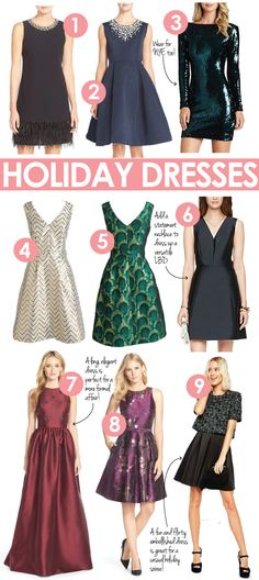 The best holiday party dresses for 2015