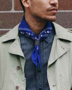 The classic American bandana first popularized by Hollywood cowboys was…