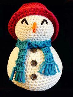 Sneeuwpop van ribbon xl..