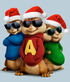 Alvin and the Chipmunks: The Road Chip | Character Poses | TEN30 Studios