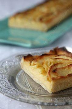 tarte aux pommes avec crème patissiere Christophe Fleder LE MIAM MIAM BLOG 02