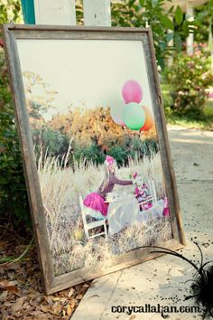 love the dry, tall grass, trees in background, big colored balloons Sister Photography, Birthday Photography, Love Photography, Children Photography, 1st Birthday Photos, Sister Birthday, Pix Art, Fairy Birthday Party, Spring Pictures