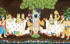 Design Decor & Disha: Indian Art: Pichwai Paintings Of Rajasthan