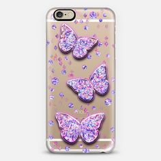 Crystal Butterflies iphone case #casetify by #AnnelineSophia. Make yours and get $10 off using code: DNNMRJ