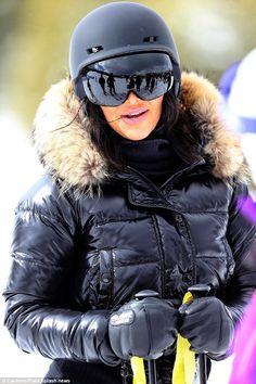 MONCLER Ski Wear | Kim Kardashian