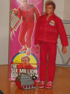 Ele e o GI Joe. toys from the - the six million dollar man doll 1970s Childhood, My Childhood Memories, Childhood Toys, Best Memories, Vintage Toys 1970s, Retro Toys, Vintage Dolls, 1970s Toys, Retro Games