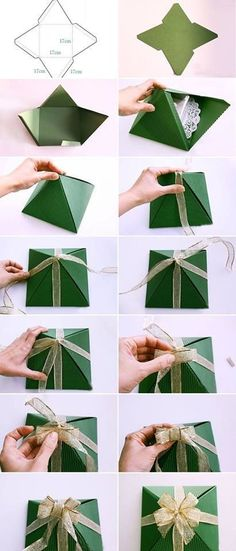 Easy Gift Wrapping DIY Step By Step Tutorial