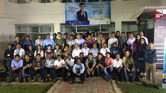 Rewee participated in the IIMC Egiye Bangla Boot Camp 2015
