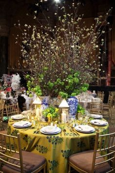 The Lenox Hill Neighborhood House Spring Gala Table Designs  Design by Ashley Whittaker