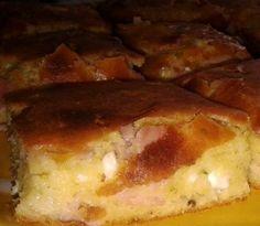 The Serbian corn bread with hum - (Srpska proja sa šunkom) Serbian Food, Serbian Recipes, Drink Recipes, Cooking Recipes, Corn Bread, Main Meals, Ham, Breads, Fries