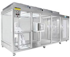 Clean Booth is also called non-dust working room; it is the fastest and most convenient simple clean room. It has multi-kind of space collocation, can also design as per customer's request with the features of operation simple and convenient, and short construction time, good mobility, and can be set additionally in the local area of general class clean room where required the high cleanliness requirements to decrease the cost.