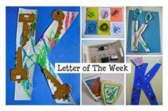 K letter crafts