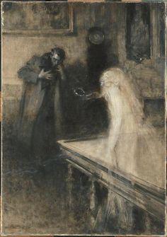 """""""Le Visionnaire"""" by Serafino Macchiati, 1904"""