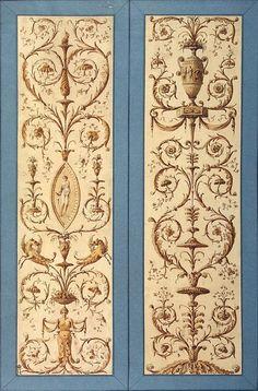 Arabesque Design for Catherine II's Museum