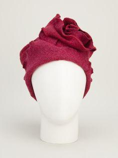KATHARINA M - sculpted floral hat 7