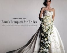 I have never seen a bouquet that long...I could definitely do my fades of blue in that. lol