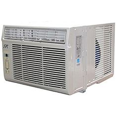 SPT Energy Star Window Air Conditioning Unit with Remote Energy Star Window AC) Compact Air Conditioner, Window Air Conditioner, Window Ac Unit, Energy Efficient Windows, Energy Saver, Fireplace Accessories, Remote, The Unit, Cool Stuff