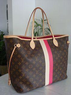 Authentic Louis Vuitton Neverfull GM Mon Monogram