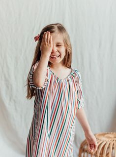 Cozy Cotton Nightgowns for Girls- Made for Sleep, Lounge and Play! The softest fabric and vibrant prints. Sizes 2T-9y