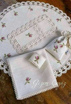 white with pastels embroidery and cut work. Hand Embroidery Patterns, Ribbon Embroidery, Cross Stitch Embroidery, Crochet Patterns, Cross Stitch Designs, Cross Stitch Patterns, Brazilian Embroidery, Cross Stitch Flowers, Cross Stitching