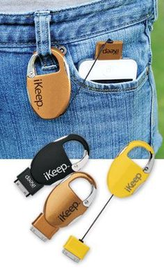 keychain charger. Could be perfect for music festivals, long hikes, or camping. Also keeps your device safe from falling