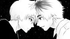 Tokyo Ghoul - Kaneki and Hide