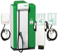EV Charging Stations for Schneider Electric! Electric Station, Electric Charging Stations, Gas Station, Electric Charge, Electric Vehicle, Ev Charger, Portable Charger, Techno, Optima Battery