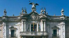 Detalle de la fachada de la Fábrica de Tabacos. Sevilla © Turespaña