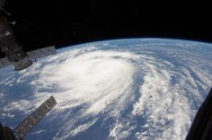 Hurricane Katia Baby Photo From Space Station