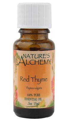 Nature's Alchemy 100% Pure Essential Oil Red Thyme -- 0.5 fl oz