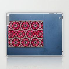 Romany Love 510 on blue wall Laptop & iPad mini Skin by Cally Creates - $25.00